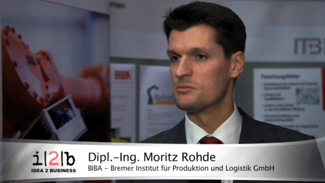 i2b meet-up Robotik Interview Dipl.-Ing. Moritz Rohde